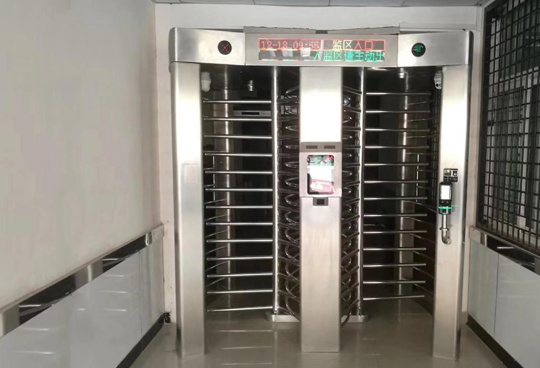 延安市吴起县监狱全高转闸门禁管理系统案例