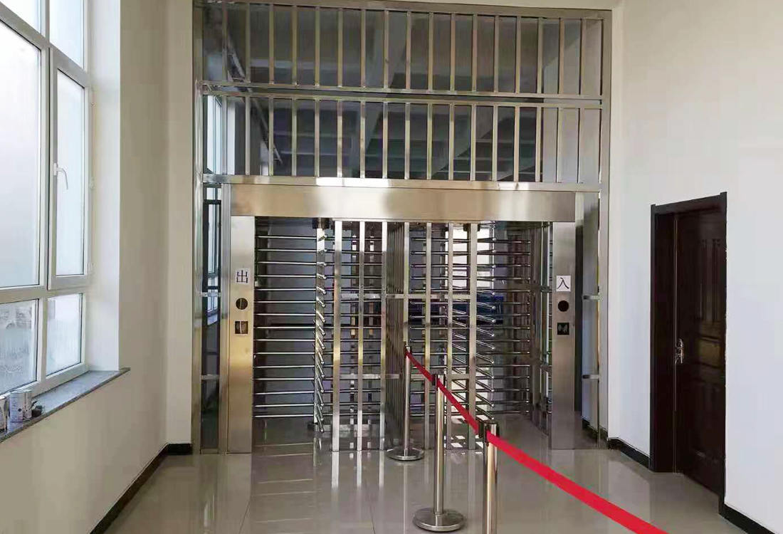通化监狱全高转闸门禁管理系统案例