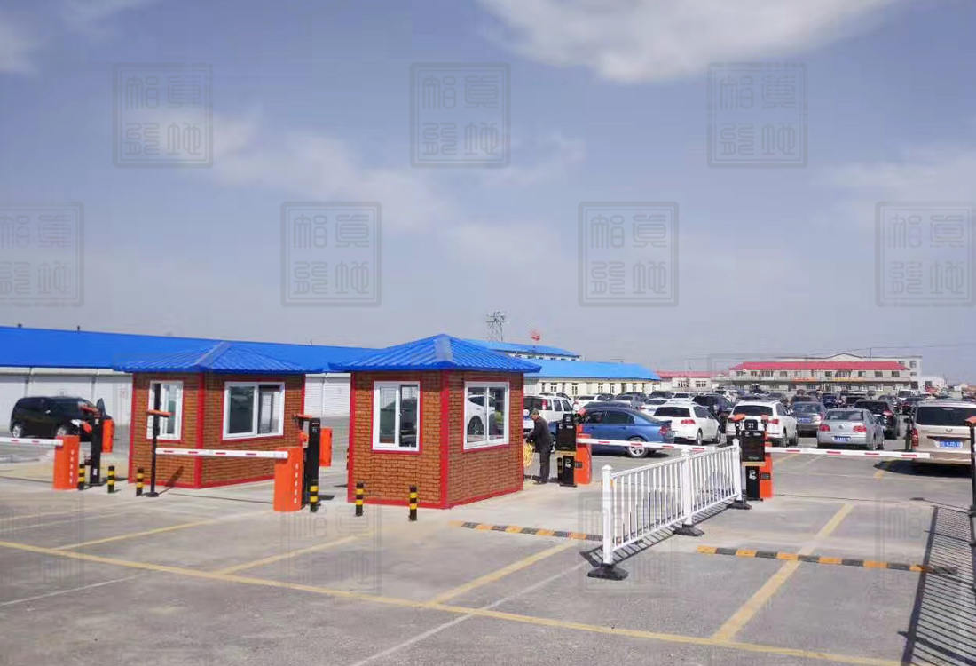 獐岛客运站停车场管理系统案例
