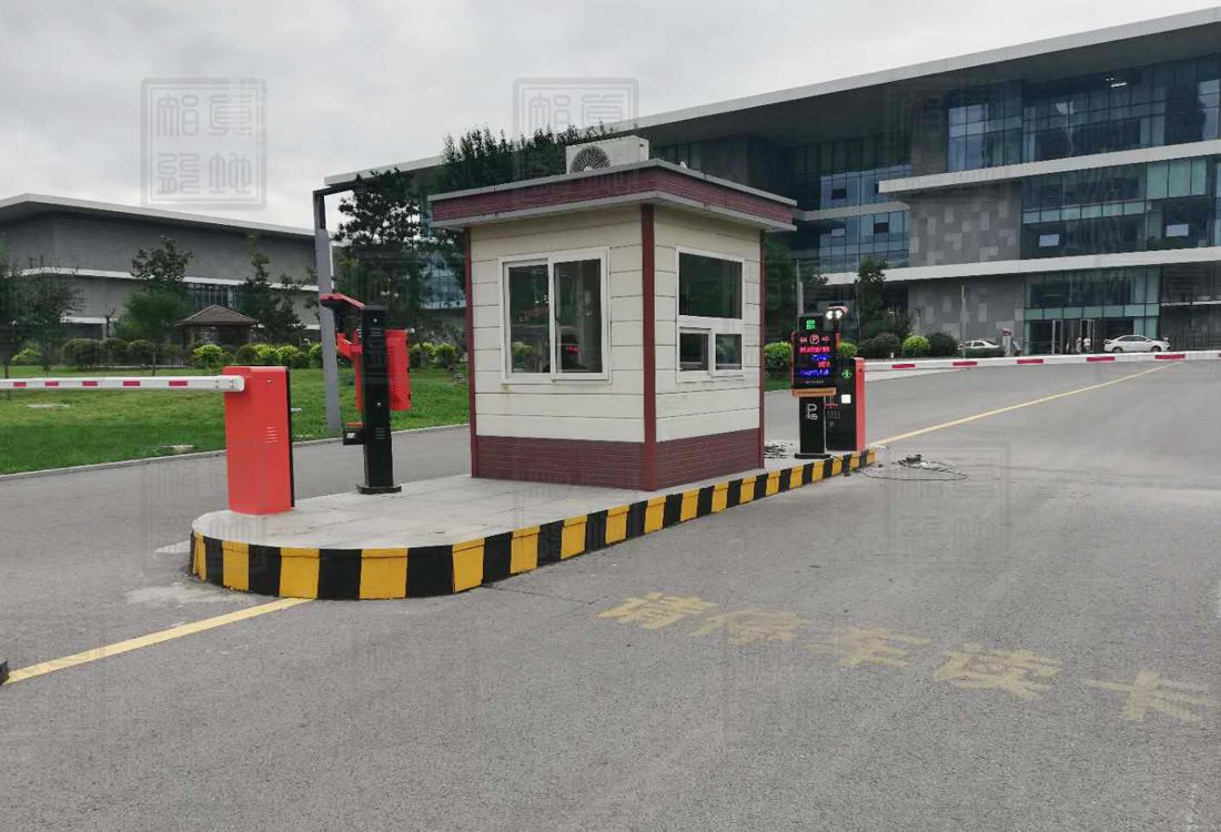 辽宁省博物馆3进3出车牌识别系统案例