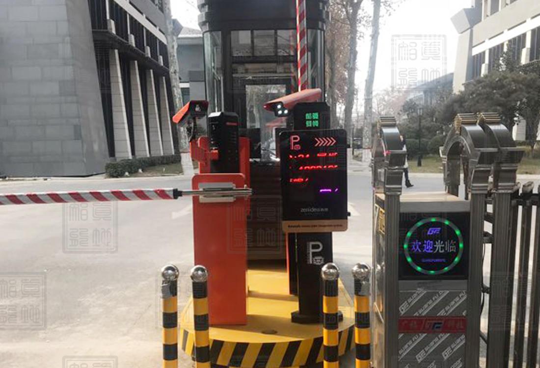 邯郸文化旅游产业集团车牌识别系统案例