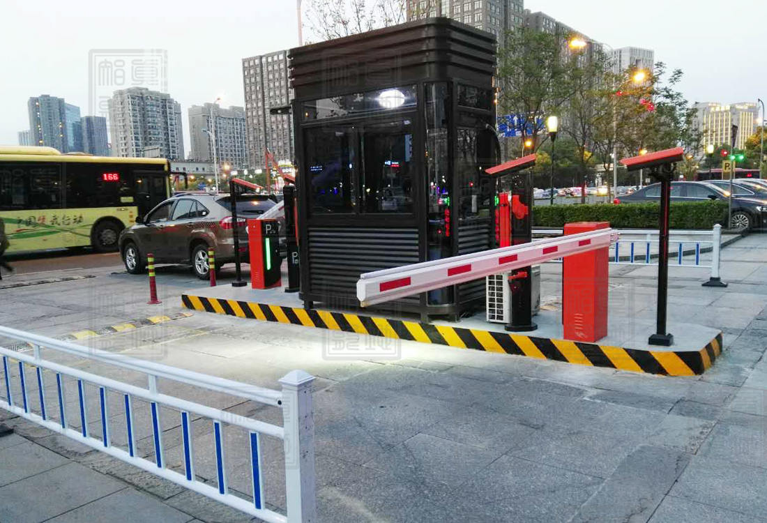 宁波万达索菲特大酒店停车场管理系统案例