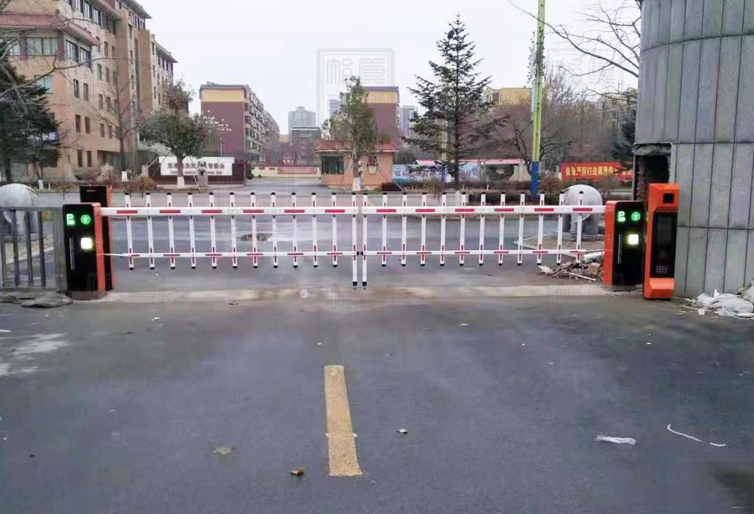 丹东市东港电力局栅栏案例