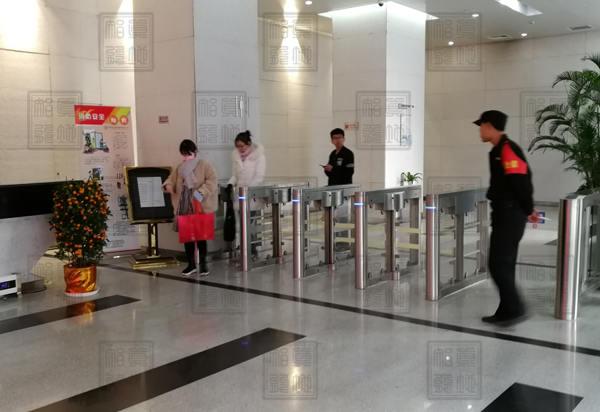 北京某写字楼无智能摆闸访客系统2