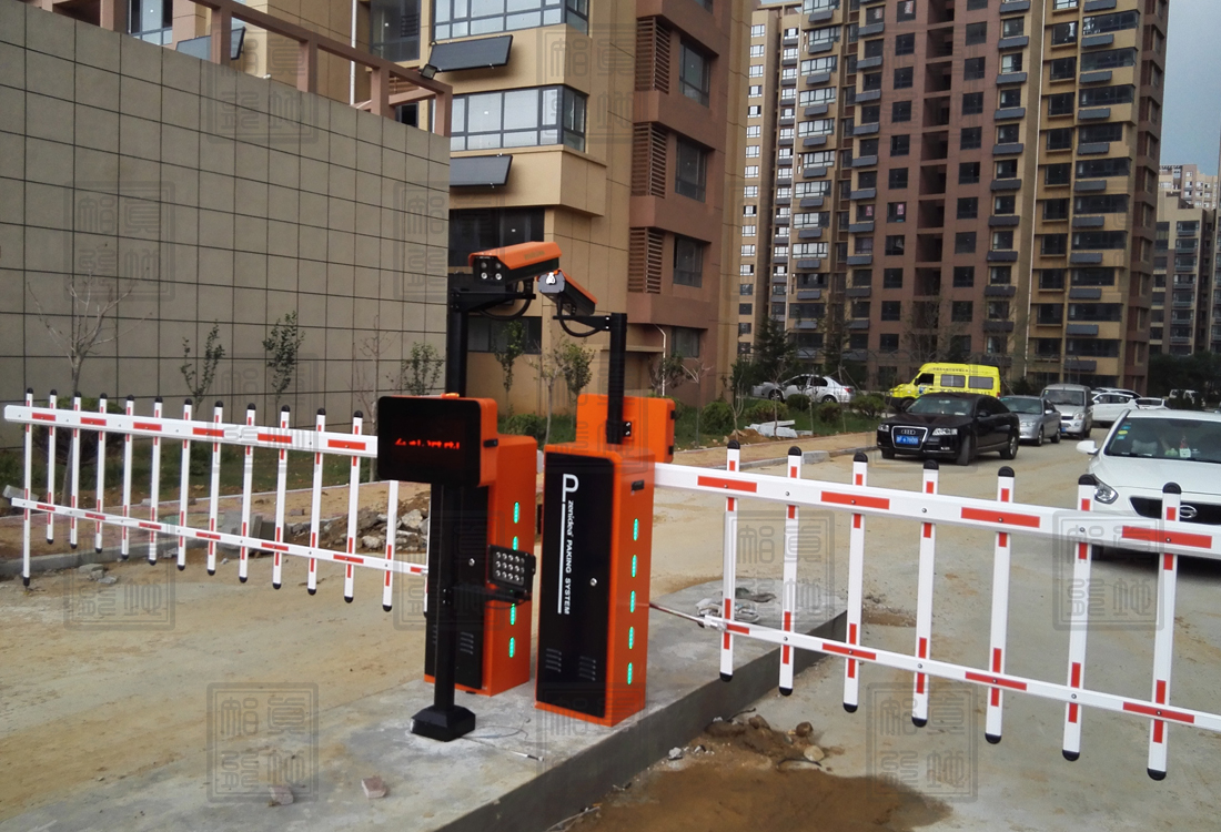 智能停车场道闸系统