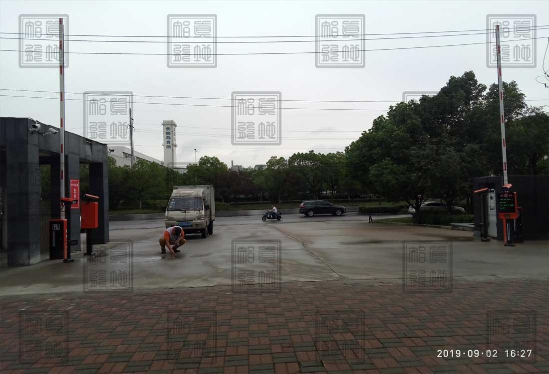 江苏省南京市某企业工厂车牌识别系统案例