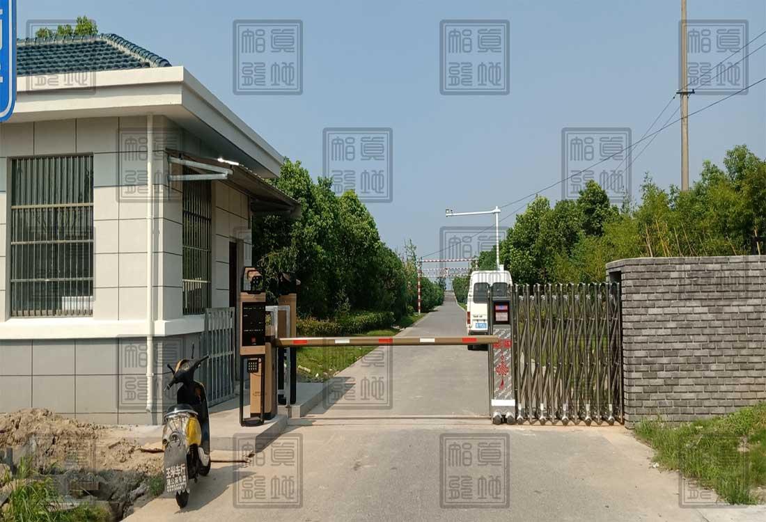 宁波杭州湾新区某水利政府企业车牌识别系统案例