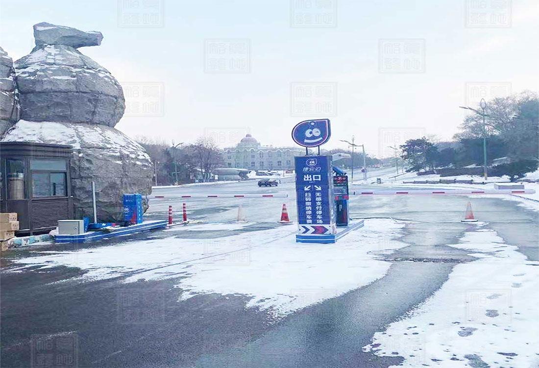 沈阳市某景区车牌识别系统案例