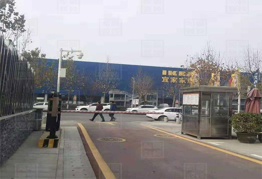 陕西省西安市某高端小区ZDP3011系列车牌识别案例
