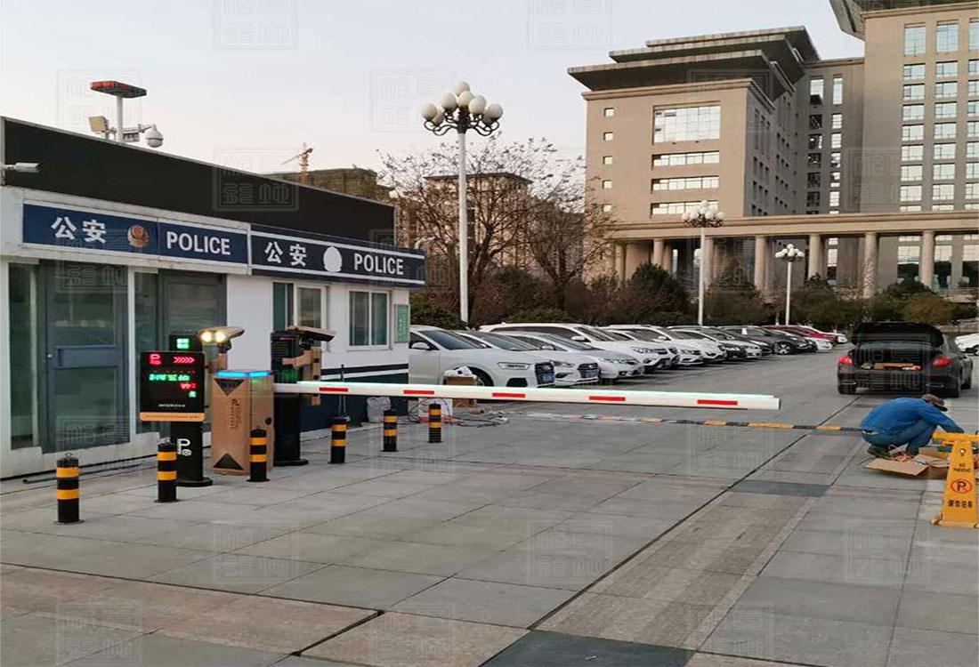 陕西宝鸡市人民政府ZDP502系列车牌识别系统案例